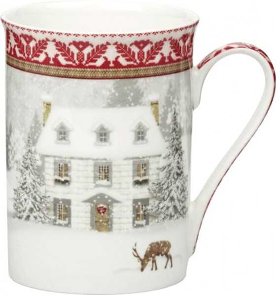 "IHR Bone China Becher ""COSY HOME"" 375ml"