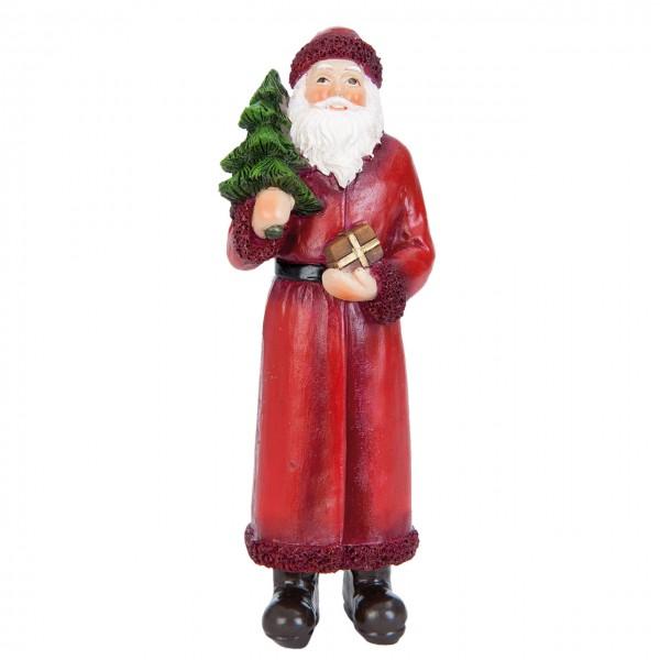 Weihnachstman mit Baum 14 cm