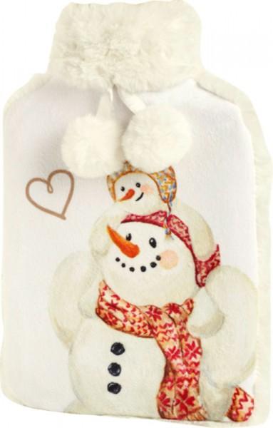 """Happy Winter Day"" Wärmflasche 20,5 x 34 cm"