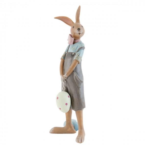 "Clayre & Eef 6PR0700 Figur ""Hasenjunge"" 18 cm"