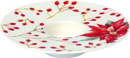 """Porzellan Teelichthalter """"ISABELLE white"""" Ø 13 cm"""
