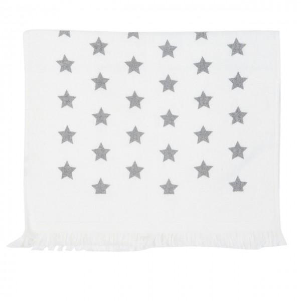 """Clayre & Eef Handtuch Küchentuch """"Catch a Star taupe"""" 40 x 60 cm"""