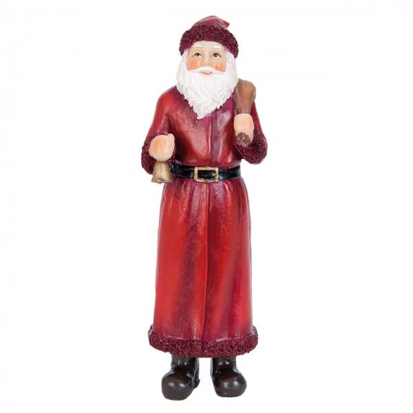 Weihnachstman mit Sack 14 cm