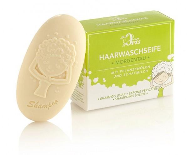 Ovis Haarwaschseife Morgentau 110 g im Karton