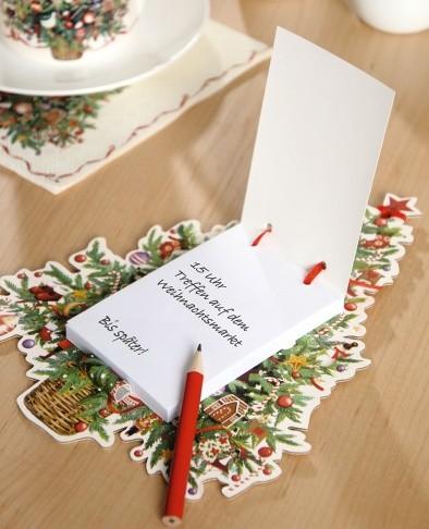 "Magnetblock mit Bleistift ""CHRISTMAS TREE"""