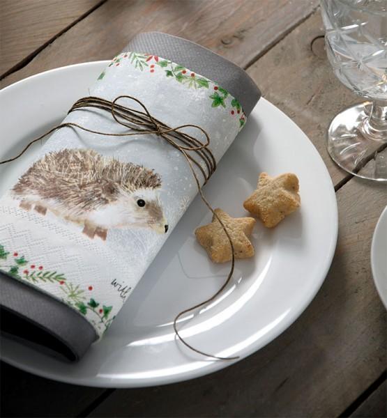 """""""Moritz"""" IHR Lunch Servietten 33 x 33 cm"""