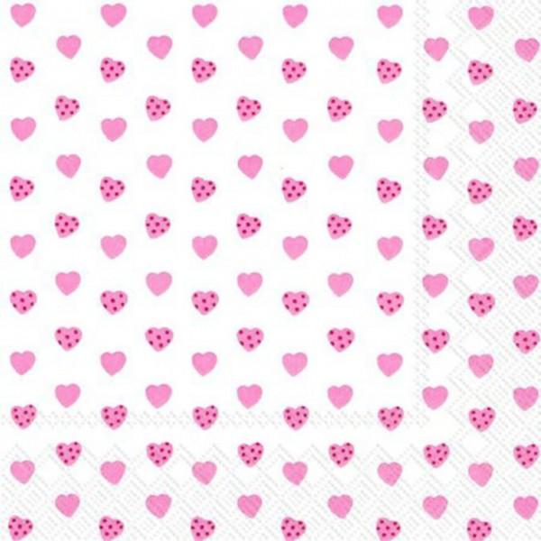 """IHR Lunch Servietten """"MY LITTLE SWEETHEART"""" 33 x 33 cm"""