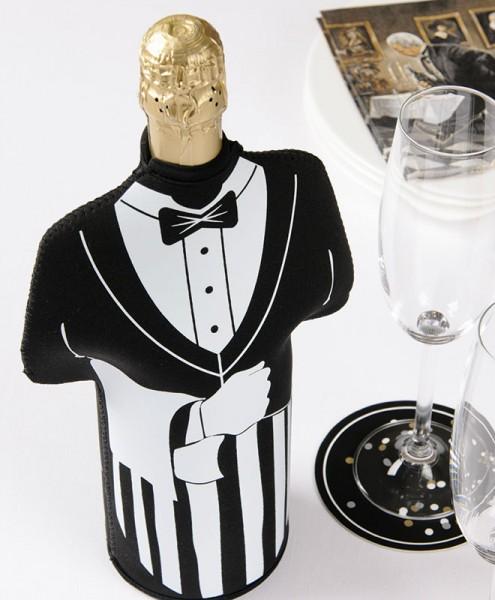 """Flaschenkühler """"DINNER FOR ONE"""""""