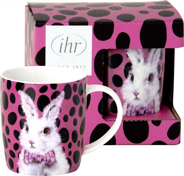 """BAD HAIR BUNNY"" Bone China Becher 300 ml IHR"
