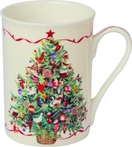 """IHR Bone China Becher """"CHRISTMAS TREE"""" 375ml"""