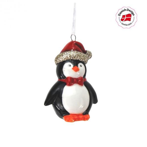 """dänischer Hänger """"Pinguin"""" handbemalt"""