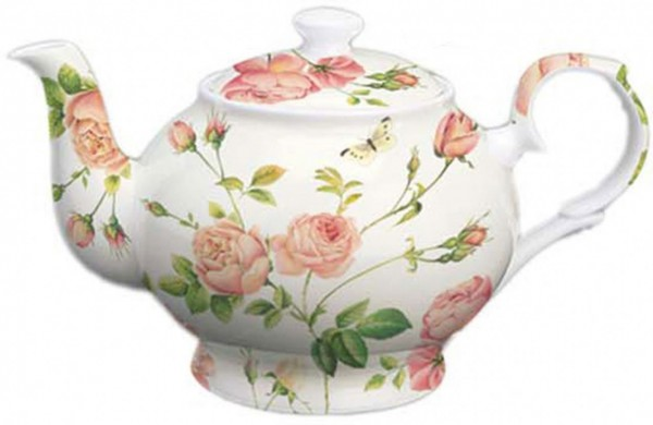 "IHR Bone China Teekanne ""NEW RAMBLING ROSE"" 1070ml"