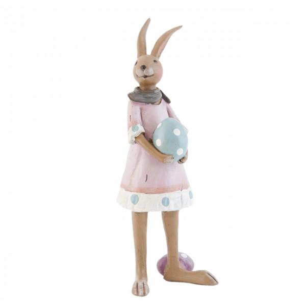 "Clayre & Eef 6PR0701 Figur ""Hasenmädchen"" 18 cm"