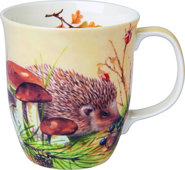 "IHR Bone China Country Becher ""NOSY LITTLE HEDGEHOG"" 375ml"