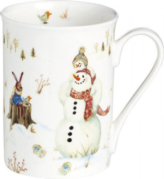 "IHR ""Happy Winter Day"" Bone China Country Becher 375ml"