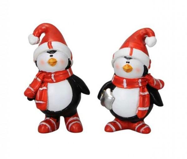 "Pinguine ""Felix & Mille"" 2er Set 4 x 3 x H6,5cm"